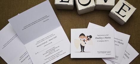 Najciekawsze zaproszenia ślubne