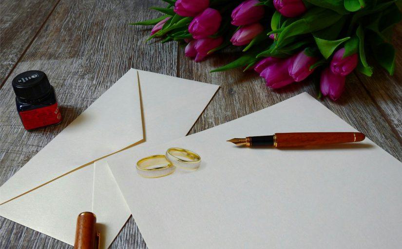 Romantyczne kartki ślubne – jak wykonać je samodzielnie?