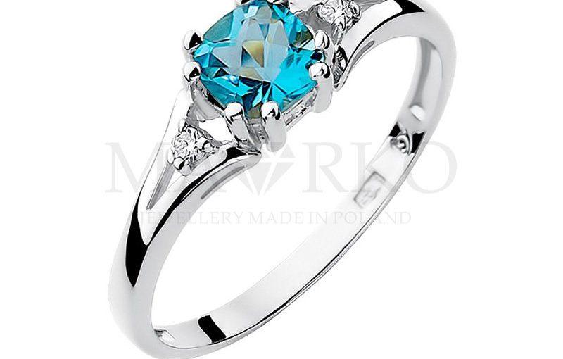 Wyjątkowy pierścionek zaręczynowy