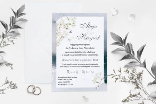 Symbolika koloru srebrnego – zaproszenia ślubne