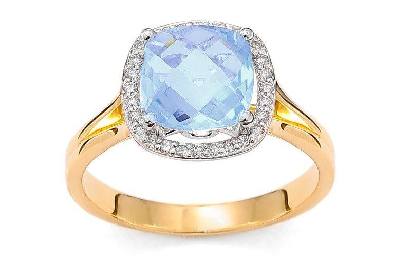 Dlaczego warto zdecydować się na pierścionek zaręczynowy z niebieskim topazem?